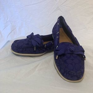 Coach Flats / Boat Shoes